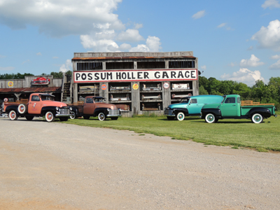 Redneck Ingenuity Classic Car And Truck Restoration Interior Design - Classic car garage