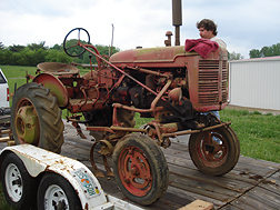 47 Ford 9N Tractor.